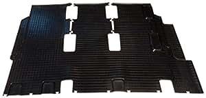VW t5 caravelle/eurovan/bj.2005 combiné avec tapis en caoutchouc noir