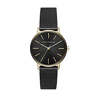 Armani Exchange Analog Black Dial Women's Watch-AX5548