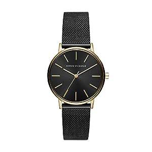 Armani Exchange Analog Black Dial Women's Watch-AX5548