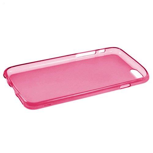 iProtect TPU Schutzhülle Apple iPhone 6, 6s Soft Case in matt Rosa TPU Soft Case Pink