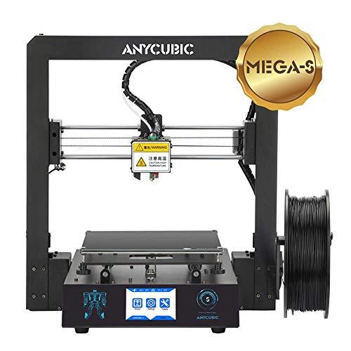 """ANYCUBIC Mega-S Impresora 3D Tamaño de impresión 210 x 210 x 205 mm Con Ultrabase calefactada Pantalla táctil de 3.5"""" Funciona con TPU/PLA/ABS"""