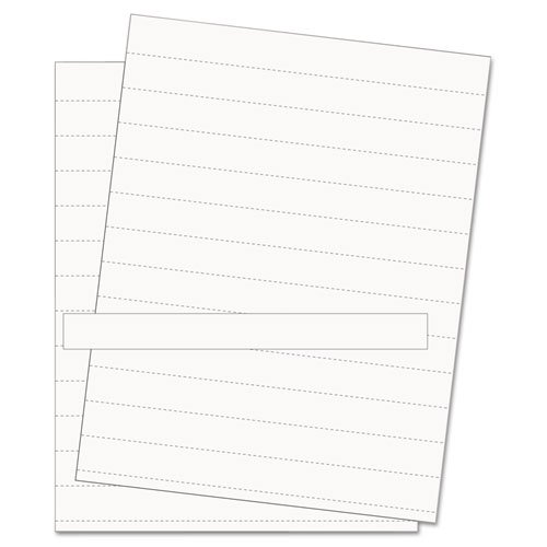 Bi-Silque Visual Communication Products Fm1615 Data Card Replacement Sheet44; 8 12 X 11 Sheets44; White44; 10Pk