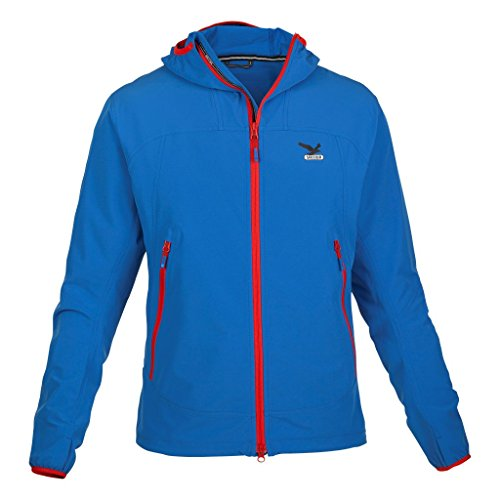 SALEWA Herren Softshelljacke Indra DST M Jacket Victoria Blue/1500
