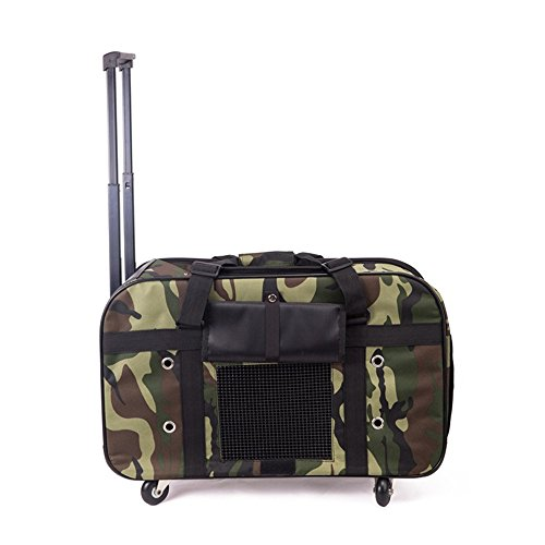 DESESHENME Transportin Dog Bag Pet Out For Portable Package Trolley Carry Sidepack Per Cats Carrier Pet prodotto, 57 × 38 × 22cm, A