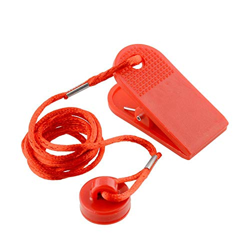 Takestop® sicurezza interruttore magnetico di blocco per tapis roulant fitness corsa jogging macchina chiave ricambio universale
