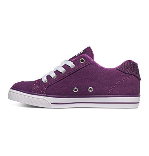 DC Shoes  Chelsea Tx, Sneakers Basses Fille Violet (Pur)