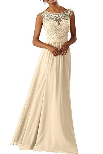 CLLA dress Damen Abendkleider Für Hochzeits Elegant Appliques Ballkleid Lang...