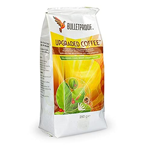 Bulletproof Coffee Ground, Maximum Focus Free From Toxins, Rich in Anti-Oxidants, Pack of 1 x 250 g