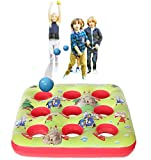 Kreative Kraft Target Ball Jeu Gonflable pour Enfants Partie Extérieure Jeux D'été pour Garçon Fille 3 dans une rangée Inflatables Jardin Jouet