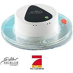 Sichler Haushaltsgeräte Nasswischroboter: Boden-Wisch-Roboter PCR-1130 für Nass- und Trockenreinigung (Robot Mop)