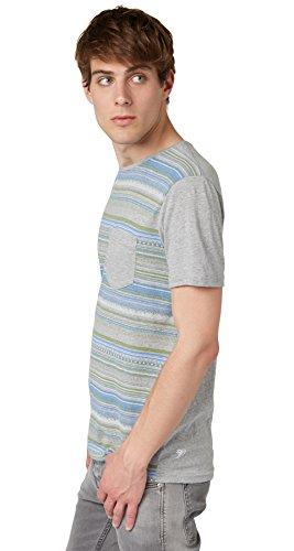 TOM TAILOR Denim Herren T-Shirt Grau