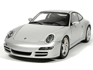 porsche 911 997 carrera s 2005 silber. Black Bedroom Furniture Sets. Home Design Ideas