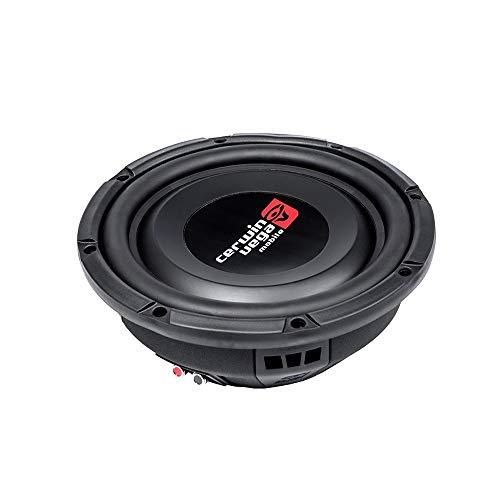10 Zoll 25cm Slim Subwoofer passiv rund Auto Audio Bass 300W 2X 4Ohm ()