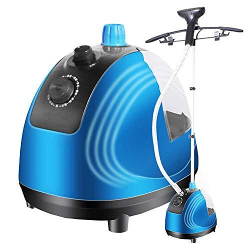 QAZ Dampfglätter Dampfbügeleisen Bügelpressen Vertikale Garment Steamers Für Steamer 1800W 2L Vertikaler Garment Steamer 11-Gang Thermostat Sicherheit Bügeln Kleidung Steamer,Blue -