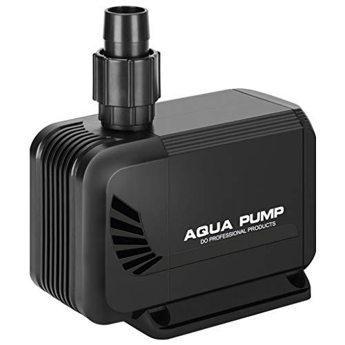 Xinjin-C Pompa di Acqua sommergibile 3500L / H 45 W per Stagno, Acquario, Acquario con Pompa per Acqua Pompa idroponica con Cavo di Alimentazione da 1,8 m