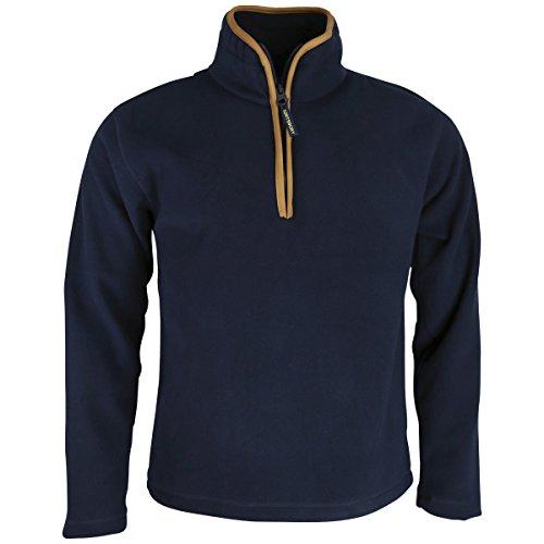Huntsbury England Herren Country Fleece Pullover XXL Marineblau