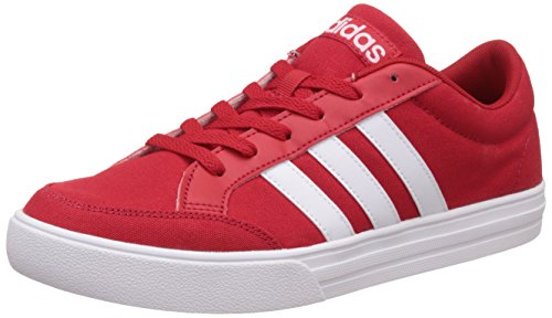 adidas neo Men's Vs Set Scarle and Ftwwht Sneakers - 8 UK/India (42 EU)