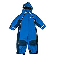 Spotty Otter Adventure III Waterproof Splashsuit - Blue/Navy - 3-4 Years (98-104cm)