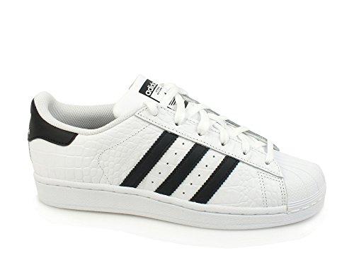 b080149ea1120 adidas Superstar, Zapatillas Unisex Adulto, Blanco Wei\U00df, 38 EU