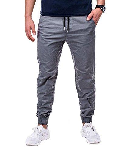 BetterStylz - Pantalon - Homme multicolore Mehrfarbig Gris