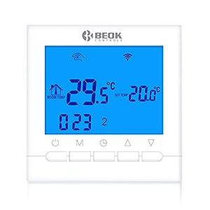 Beok Termostato Wifi, Termostato Intelligente Per Programmabile Caldaia A Gas Cablata Con Controllo Remoto Online… 41%2B66i9wRtL. SS300