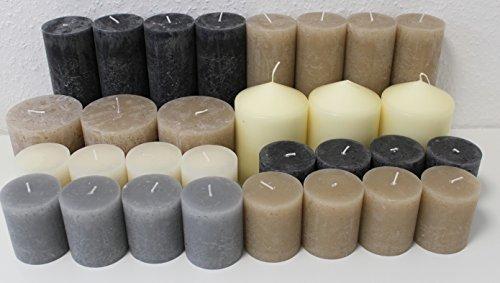 12-kg-lot-de-30-rustik-de-pilier-de-bougies-rustic-bougies-pilier-bougies-bougie-rustik-rustikk-mine