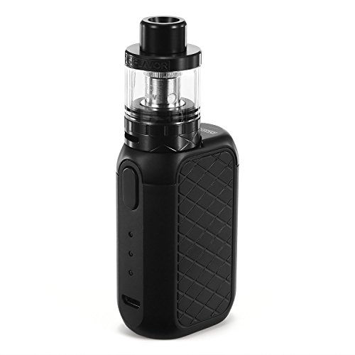 E Cigarette, Ubox Vape Kit, Bottom Airflow Sub Ohm Tank, Simple Operation with LED Light Indicator, 1700mah OLED Box Mod, No E Liquid, Nicotine Free