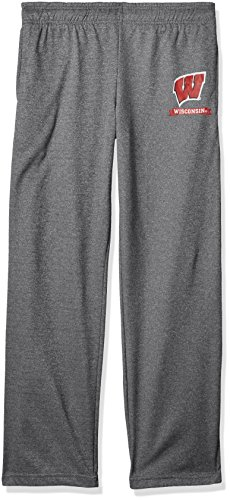 Old Varsity Brand NCAA Herren Herren Poly Hose, Herren, Poly Fleece Pant, Dunkles Erika, Medium Varsity Fleece Hose