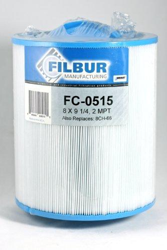 Filbur FC-0515 antimikrobielle Ersatzfilterpatrone für Master Top Load Pool und Spa Filter - Master Spas Filter