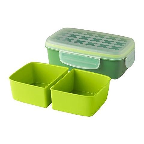 Festmaltid Lunch Box Bento Box Green by Ikea