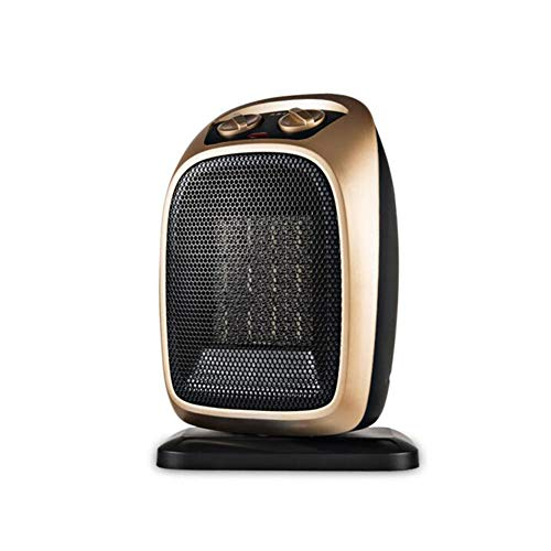 Radiateurs électriques CJC Mini Céramique Ventilateur 1500W Automatique Oscillation 2 Chaleur Réglages Naturel Vent