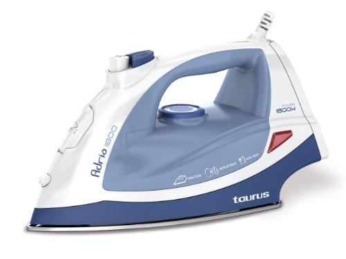 Taurus - Plancha Ropa Adria1800, 1800W, Golpe Vapor 35Gr/Mn, Suela Ino