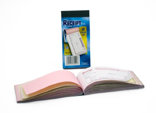 Pukka Pad, NCR Triplicate Receipt Book 69 x 140mm  Pack of 5 Test