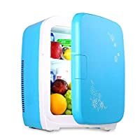 Mini Fridge Personal FridgeMini Portable Compact, Cools & Heats, Includes Plugs For Home Outlet & 12V Car Charger 15 Liter Capacity,100% Freon-Free & Eco Friendly Small Fridge for Bedroom Caravan Off