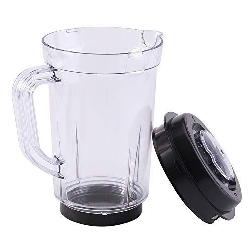 Mezclador de jarra con tapa, licuadora licuadora Piezas de repuesto de plástico sin BPA KitchenAid...