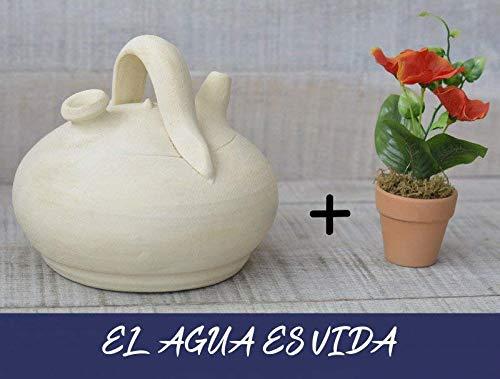 Hogar y Mas Botijo. Dispensador de agua H2O 1.5-2 litros Aprox. Especial para el refrigerador