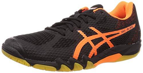 ASICS Mens 1071A029-001_46 Squash Shoes, Black