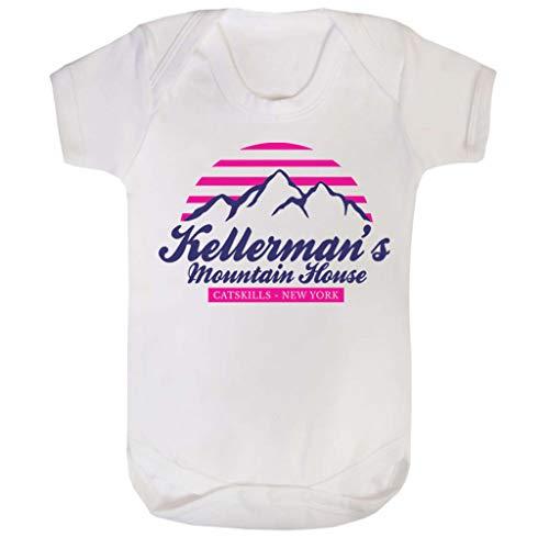 (Cloud City 7 Dirty Dancing Kellermans Mountain House Baby Grow Short Sleeve)