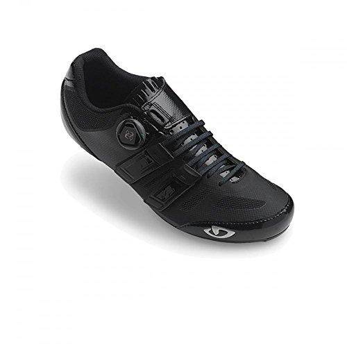 Giro Herren Sentrie Techlace Road Radsportschuhe - Rennrad, Mehrfarbig (Black 000), 42 EU