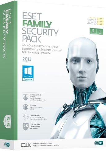 Eset Family Pack v6 5PC Retail