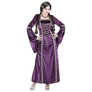 WIDMANN Disfraz de Princesa Medieval adulto mangas anchas Carnaval