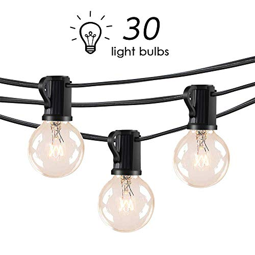 Guirnalda con 30 bombillas Lofter + 3 bombillas de repuesto por 23,99€ ¡¡60% de descuento!!