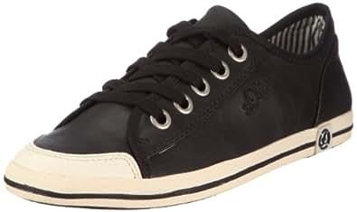 s.Oliver Casual 5-5-23222-28, Damen Sneaker, Schwarz (Black 1), EU 42