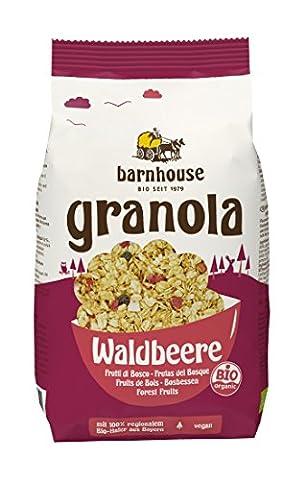 Barnhouse Granola Waldbeere, 3er Pack (3 x 375 g)