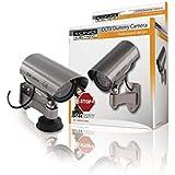 Konig Professional Dummy Outdoor Camera Flashing LED - Metalic Brown