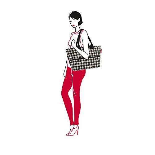 Reisenthel - Borsa shopper e1, colore: Nero 63 black multicolore