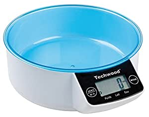Techwood TPA-855 Balance de Cuisine Digitale