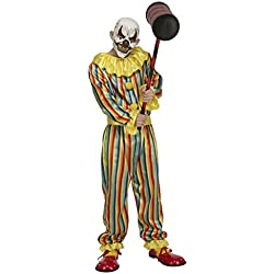 My Other Me Me-204389 Disfraz Prank clown para hombre, M-L (Viving Costumes 204389)