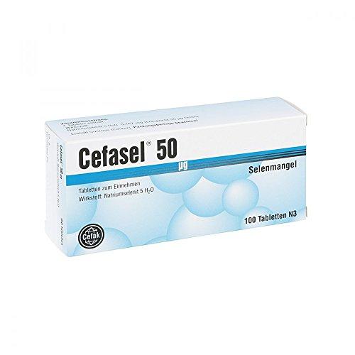 Cefasel 50 [my]g Tablette 100 stk