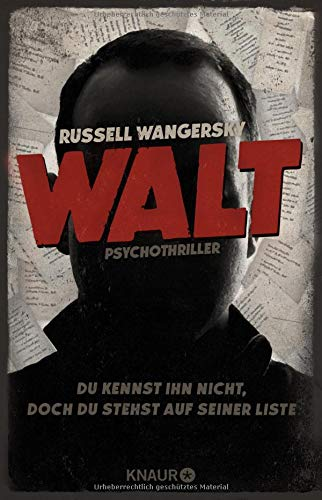 Walt: Psychothriller